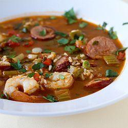 Shrimp and Sausage Jambalaya Recipe | Brown Eyed Baker
