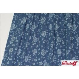 Jacquard Wild Rose, vintage blue