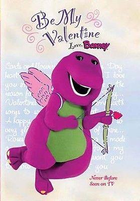 Be My Valentine Love Barney Dvd