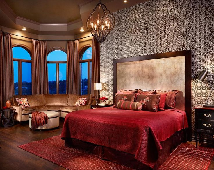 Red Mansion Master Bedrooms