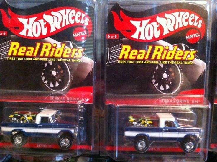1 troy lee tde amp 2 hot wheels rlc texas drive em real