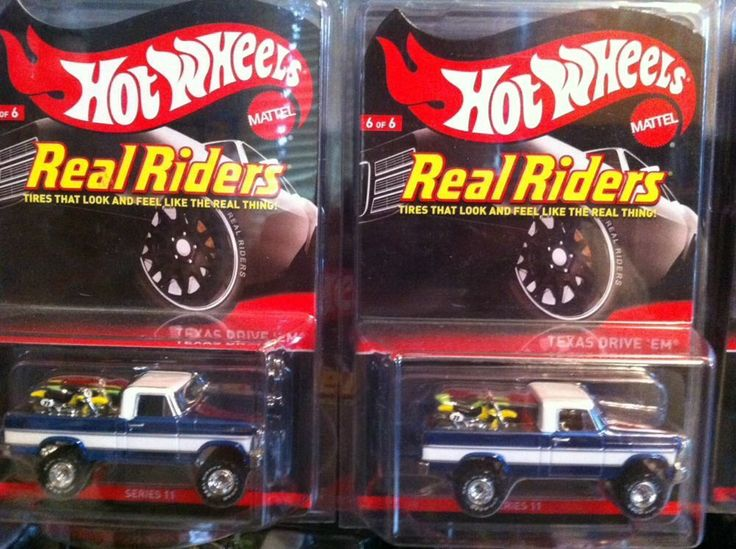 1 TROY LEE TDE & 2 HOT WHEELS RLC TEXAS DRIVE 'EM REAL ...