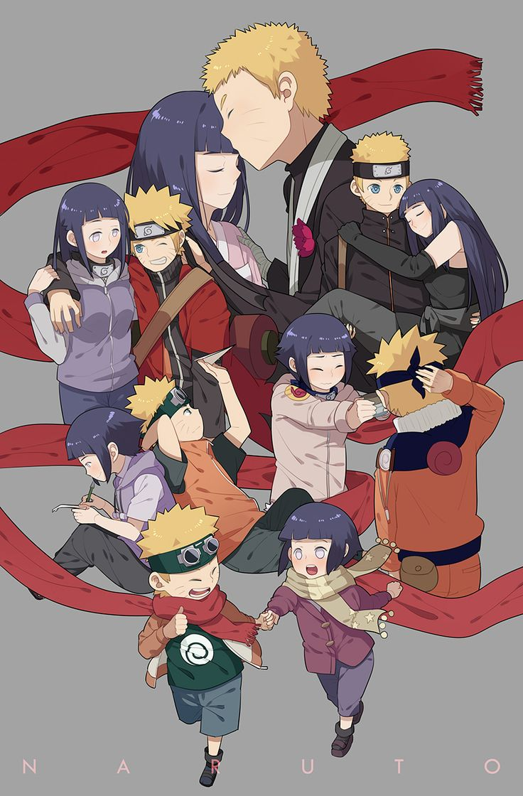 Tags: Fanart, NARUTO, Uzumaki Naruto, Hyuuga Hinata, Pixiv, Luo., Fanart From Pixiv, Naruto The Movie: The Last