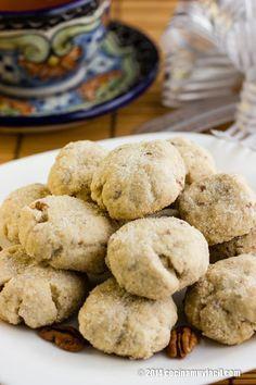 Polvorones de nuez. Receta   cocinamuyfacil.com