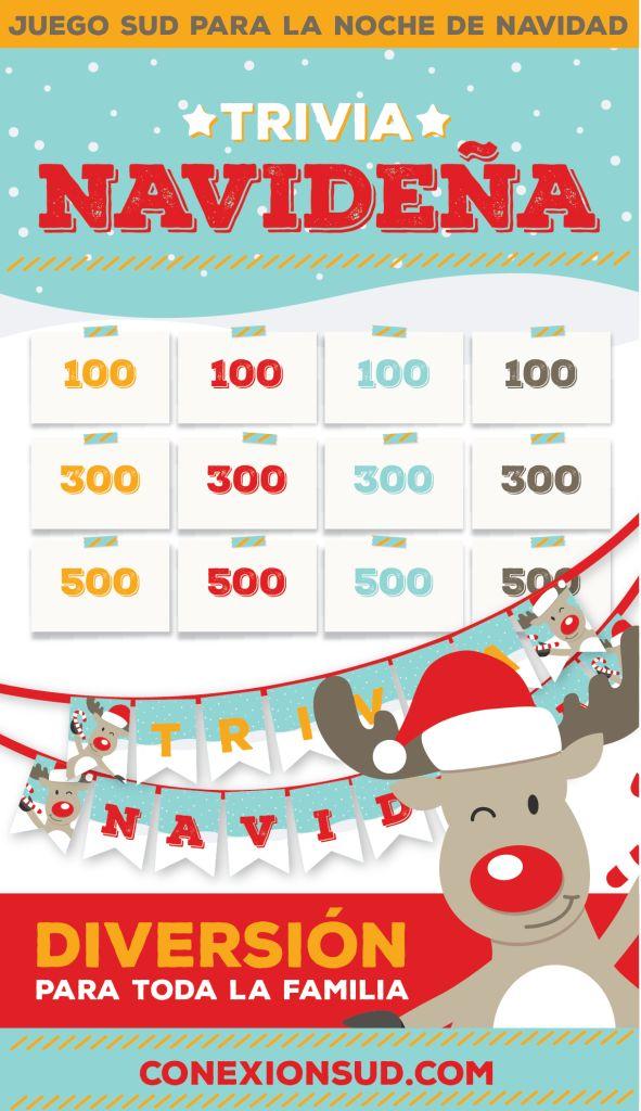 Este es un juego navideño para que toda la familia se divierta la Noche de Navidad