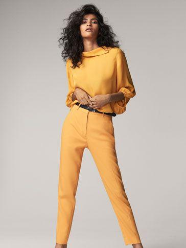 Hosen und Denim für Damen im Winterschlussverkauf bei Massimo Dutti. Entdecken Sie Slim Fit & Skinny Jeans oder Cropped, Chinos und Jogginghosen.