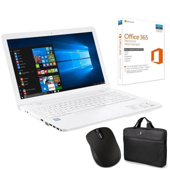ASUS X541UA-XX336T 15.6 PC Portable prix Ordinateur Portable Cdiscount 600.50 € au lieu de 752.99 €