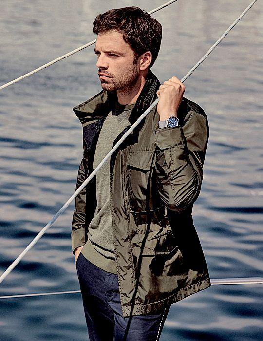 Sebastian Stan for Hugo Boss 'Summer of Ease' Collection