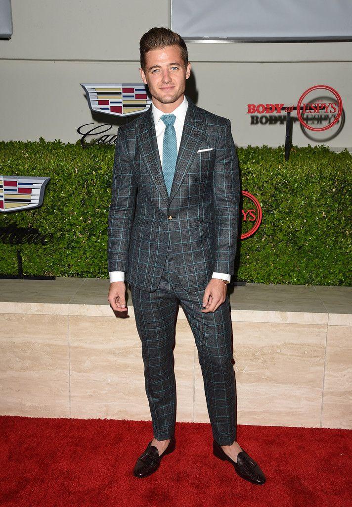 Robbie Rogers #suits up in Vivienne Westwoodat ESPYS Pre Party