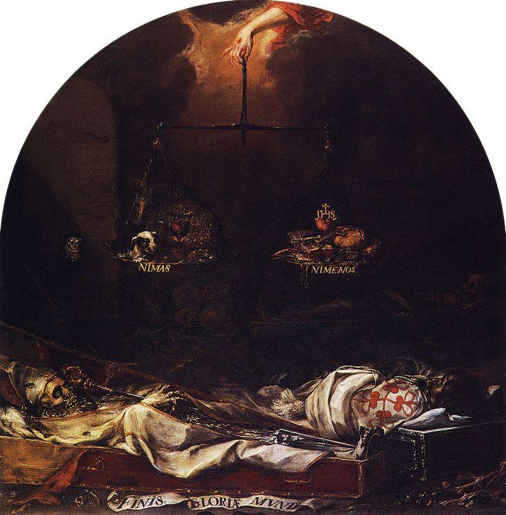 Juan de Valdes Leal - Finis Gloriae Mundi