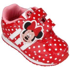 Foto Tênis Adidas Infantil Menina Disney Minnie Cf Casual