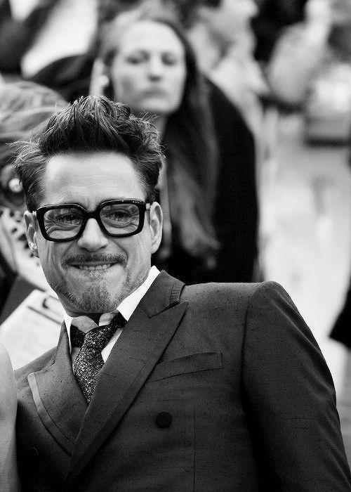 Robert Downey Jr. (the faces he makes ... haha)