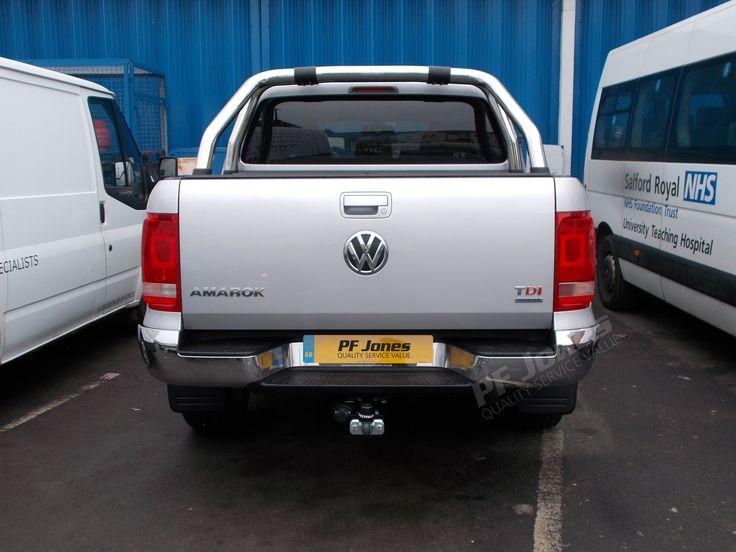 Volkswagen Amarok 2016 fitted with Westfalia UK Ltd Fixed 321835 Towbar