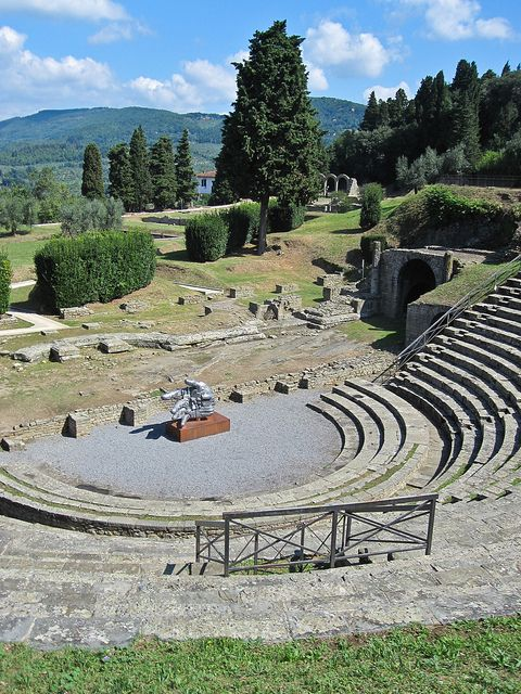| ♕ |  Teatro Romano - Fiesole, Tuscany  | by © ClydeHouse Italy