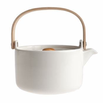 Marimekko White Oiva Teapot - Click to enlarge