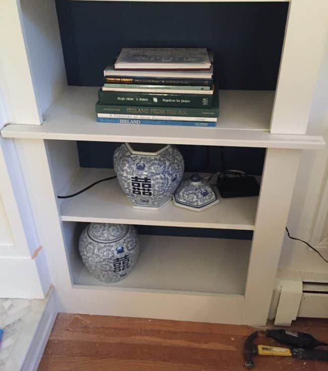 Updating Adding Cabinet Doors To Built In Bookcases In 2020 Bookcase Built In Bookcase Cabinet Doors