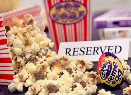 Popcorn aux œufs à la crème Cadbury