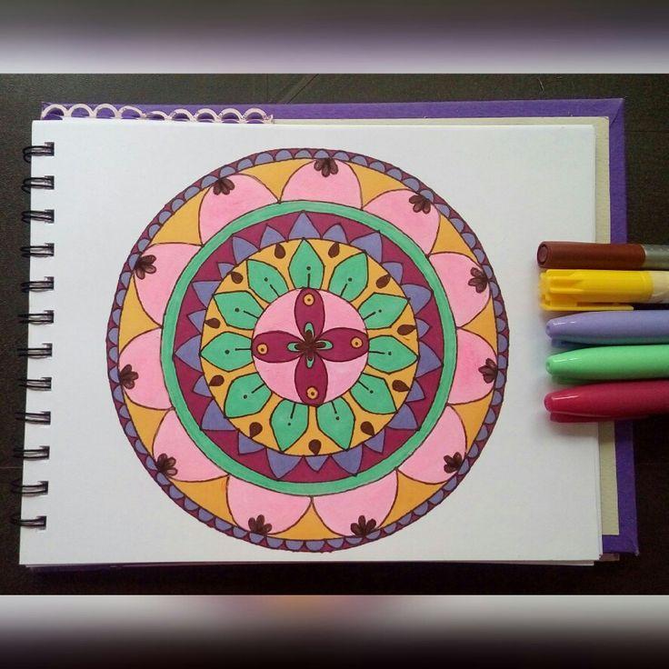 Mandala tono pastel 🌸🎨