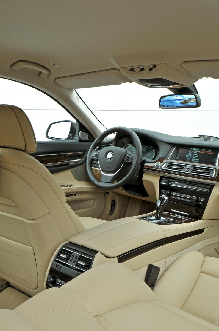 2013 BMW 7 Series. Love the interior.