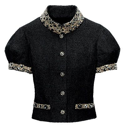 chanel clothing images | Embellished Chanel Jacket - Beyonce's Fashion & Beauty Faves - Inside ...