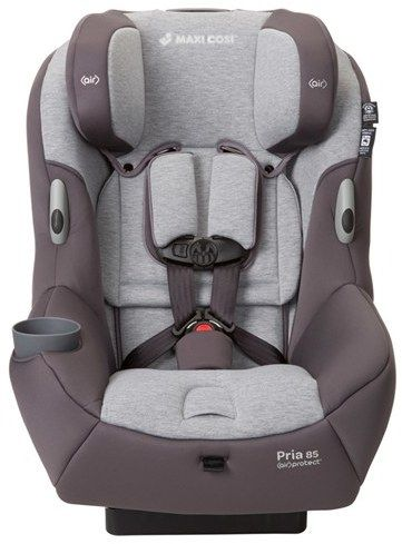 Infant Maxi-Cosi 'Pria(TM) 85' Car Seat  Baby gets a first-class ticket to ride in safety, comfort and style with this premium car seat that fits children from 14 to 85 pounds. Smart harness holders keep straps out of the way, simplifying removal and entry. This model has also been designed to fit more efficiently in your car, allowing passengers to comfortably stretch out in front seats.