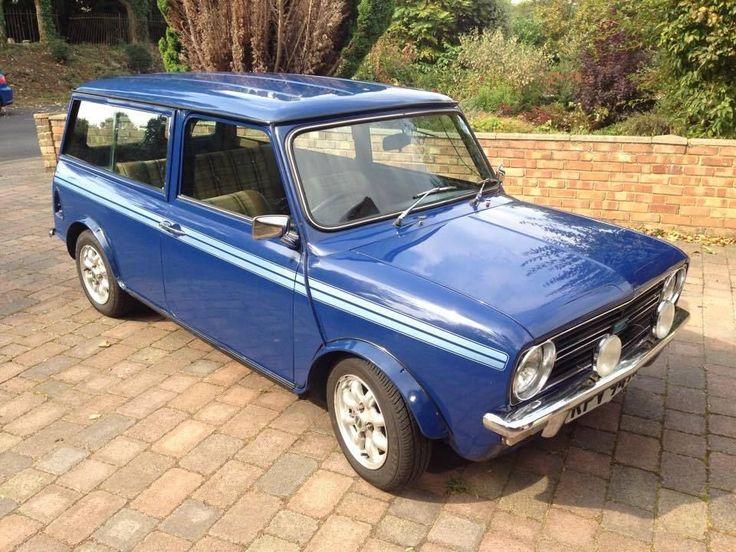 CLASSIC AUSTIN MINI CLUBMAN ESTATE BLUE 1275CC 1981 | eBay