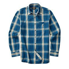 Owyhee Indigo Cotton Workshirt - RRL Shop All RRL - Ralph Lauren France