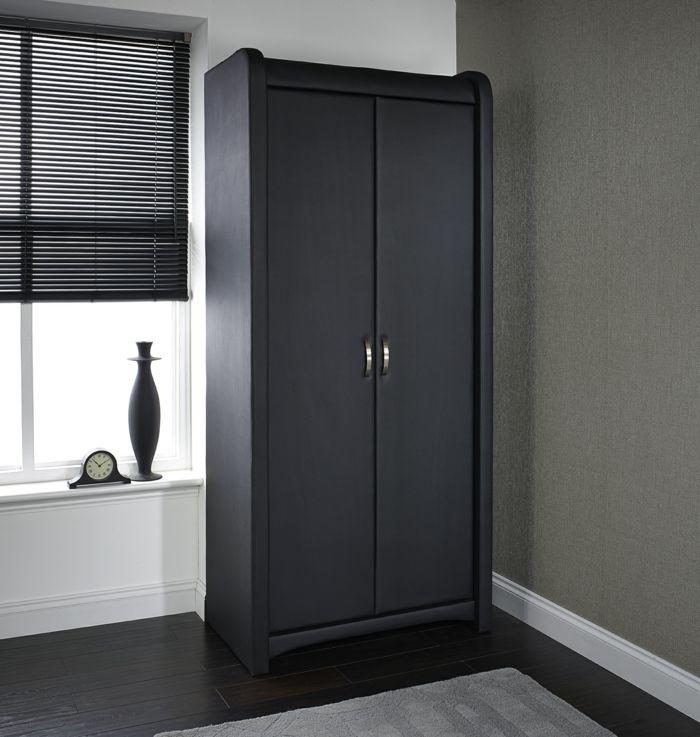 Elegant Genial schwarzer kleiderschrank