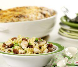 Ovenschotel met pasta en kip Recept » Colruyt Culinair