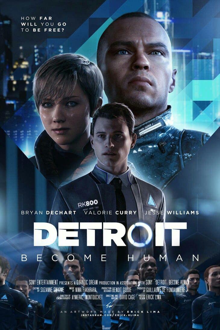 Detroit Become Human Wallpaper デトロイト デトロイトビカムヒューマン