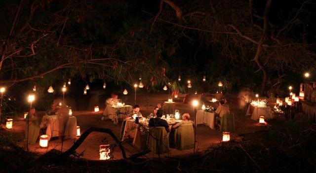 Fairytale setting for Earth Hour at Serra Cafema #Kunene #Namibia