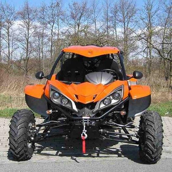 Road Legal 600cc LK600 4x4 Dune Buggy (Orange) - Price: £ ...