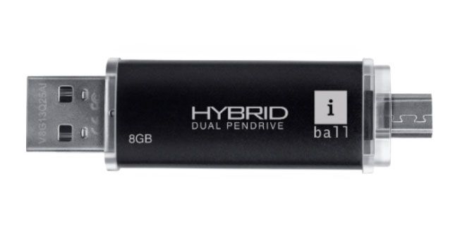 Now Link your Phone and PC with iBall Hybrid Dual Pendrive - http://gizmolord.com/link-phone-pc-with-iball-hybrid-dual-pendrive/