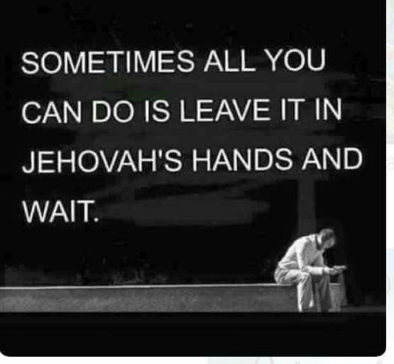 It's hard to do, but important  | my faith | Jehovah