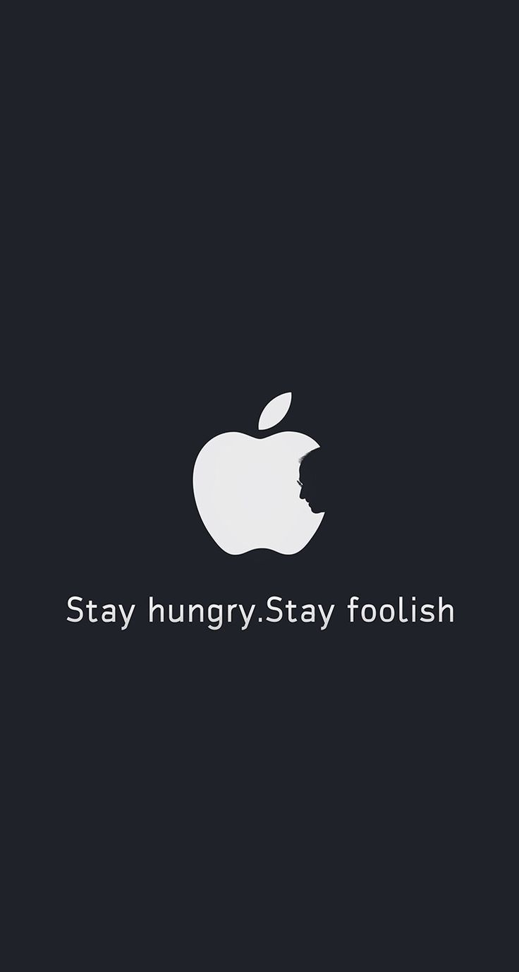 Stay hungry , stay foolish