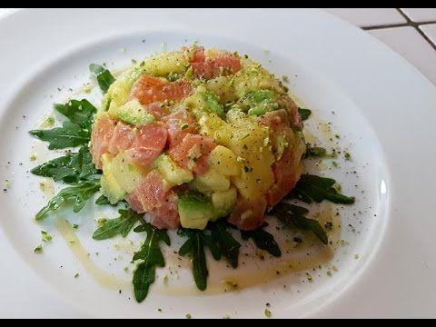 Cibo: #Insalata di #salmone  avocado patate e lime (link: http://ift.tt/2hUwg87 )