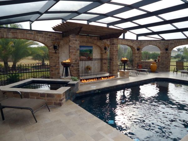 91 best images about outdoor spa on pinterest patio for How to build a florida room