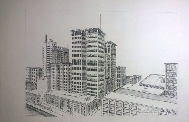 Ford Building, Detroit, USA