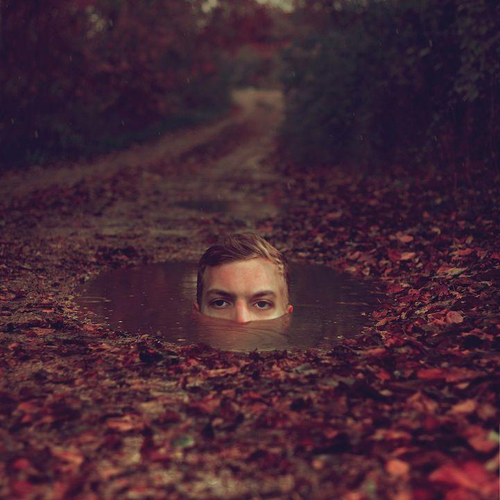 New Striking Self Portraits by Kyle Thompson - My Modern Metropolis