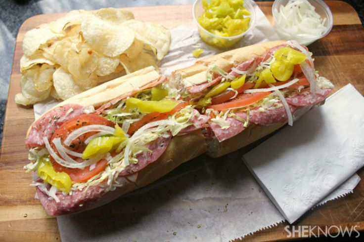 Here's how you build the original hoagie, and don't let anyone tell you different