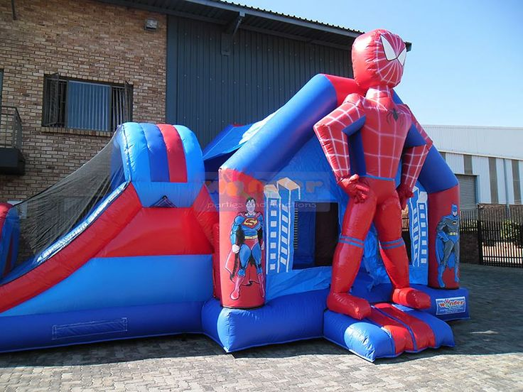 Spider-man Jumping Castle  http://www.wonder-parties.co.za/