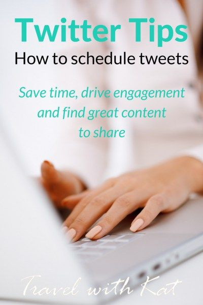 How to save time, drive engagement and find great content to share on Twitter. Find out more on Travel with Kat's blog.