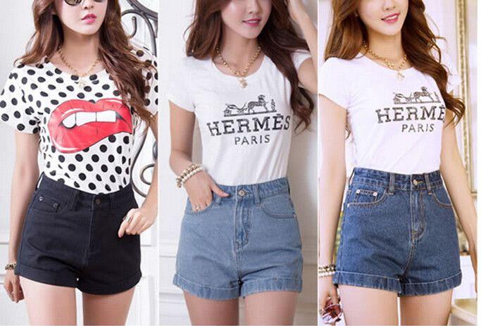 Heißer verkauf! Neue sommer jeans frauen hohe taille shorts freizeit solide denim kurzen tropfenverschiffen  http://de.aliexpress.com/store/product/Hot-Sale-New-Summer-Fashion-Jeans-Women-High-Waist-Shorts-Leisure-Solid-Denim-Short-Drop-Shipping/1747249_32318227271.html