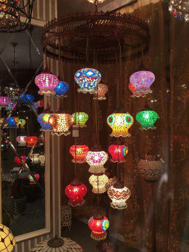 Богемия Средиземноморский Ресторан ламп Кристалл Лампы Люстра Лампа Ретро лампа спальня Люстра из Бронзы в Юго-Восточной Азии