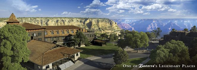 El Tovar Hotel, Grand Canyon, AZ | The hotel has hosted such luminaries as Theodore Roosevelt, Albert Einstein, Western author Zane Grey, President Bill Clinton, and many others.