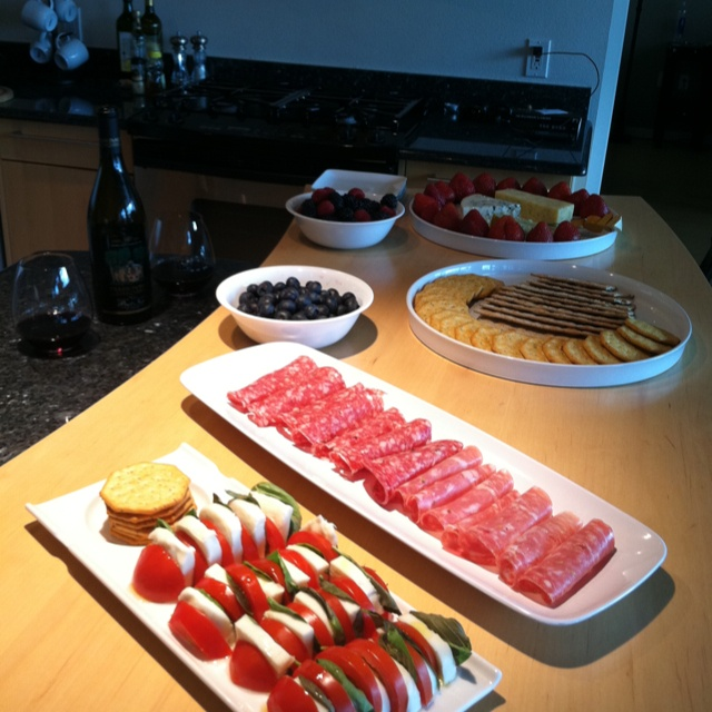 Wine party appetizers for the home pinterest salads for Great party appetizer recipes
