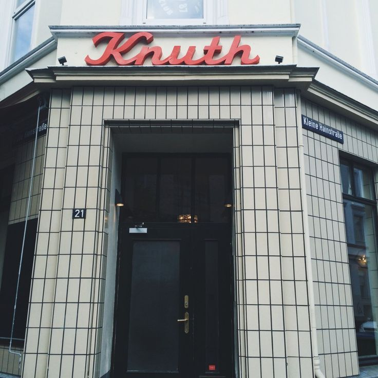 Cafe Knuth Hamburg Städtetrip