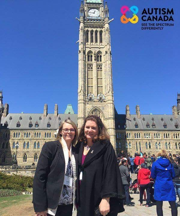 Autism Canada's Lucie Stephens (Program Director) and Laurie Mawlam (Executive Director) are proud to join the discussion at Autism on the Hill today in #Ottawa.  For more information visit http://ift.tt/1ahetl3  #autismcanada #autism #asd #spectrum #autismonthehill #ontario #parliament #advocacy #support #hope