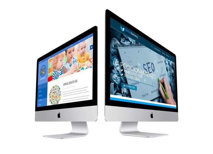 Diseño de Páginas web en Madrid MODERNOS Y DE ALTA DEFINICIÓN 100% PERSONALIZADO #Diseñoweb #Paginasweb #Diseñowebmadrid https://www.marcosescorche.com/diseno-web/