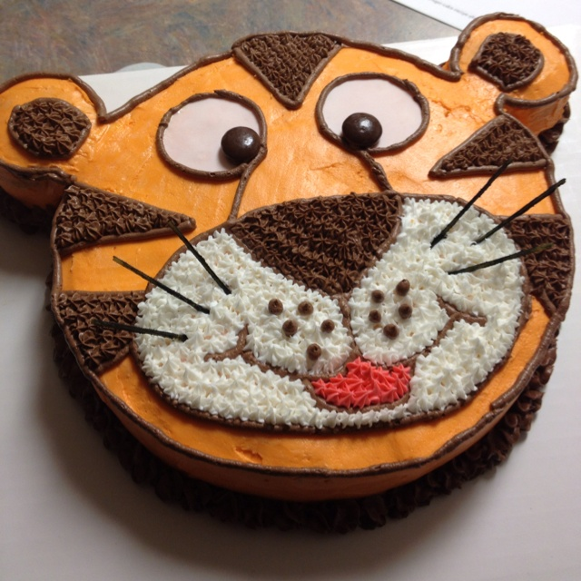 Cake Designs Tiger : Tiger Cake 2nd Birthday Ideas Pinterest Tigers ...